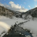 横畑・雪景色