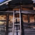 横畑・冬晴れの小屋