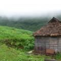 牧場の小屋