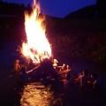 小池・虫追い川船